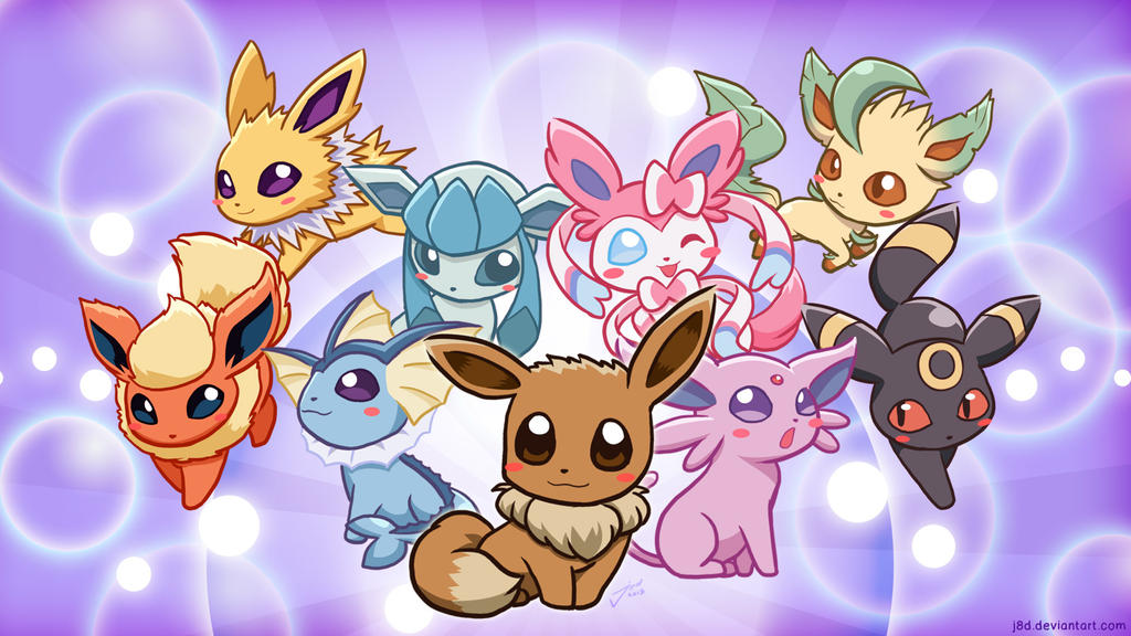Eeveelution by J8d on DeviantArt