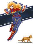 The Strongest Female Avenger has Finally Arrive by J8d