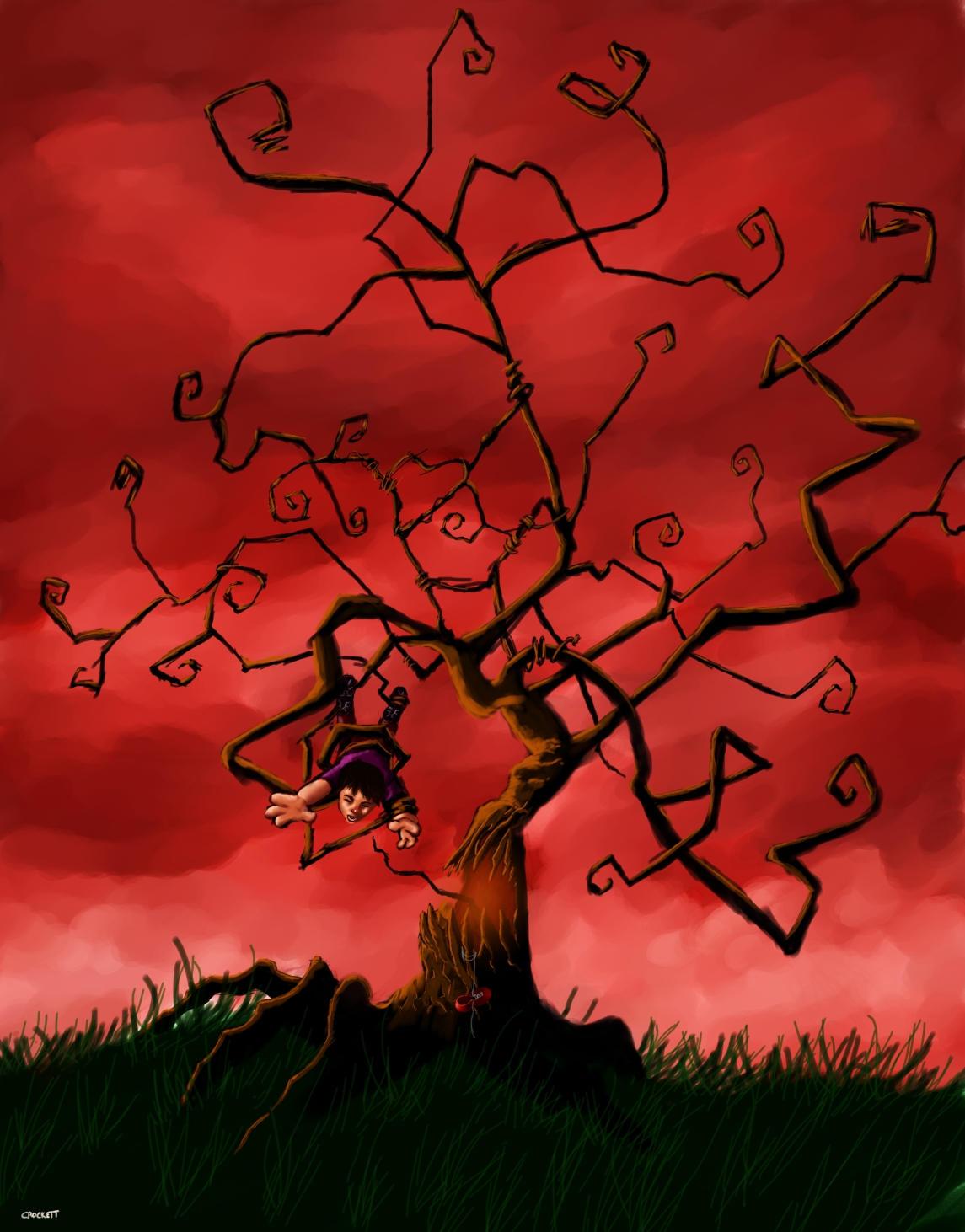Unforgiving Tree by MotM32