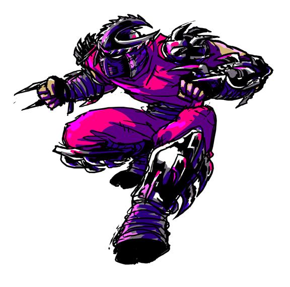 tmnt: shredder by mooncalfe