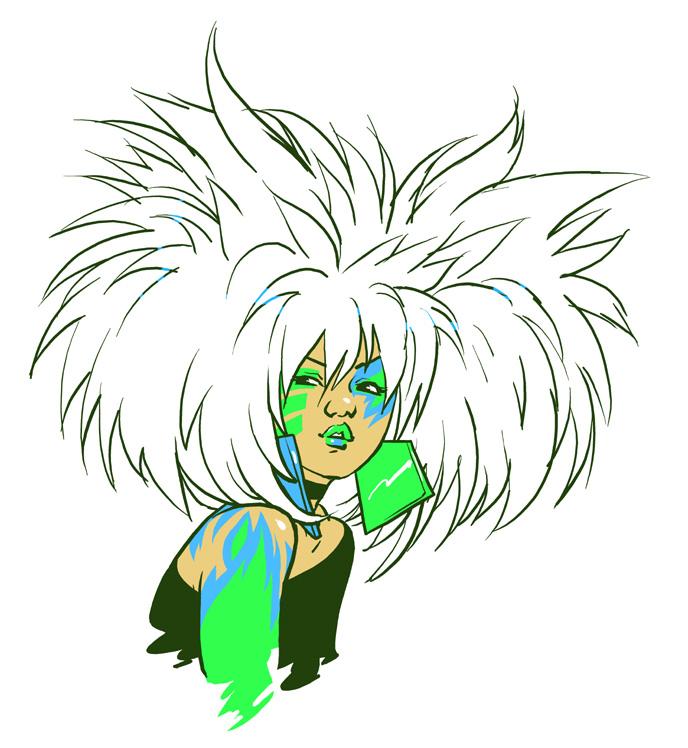 JEM: Roxy by mooncalfe