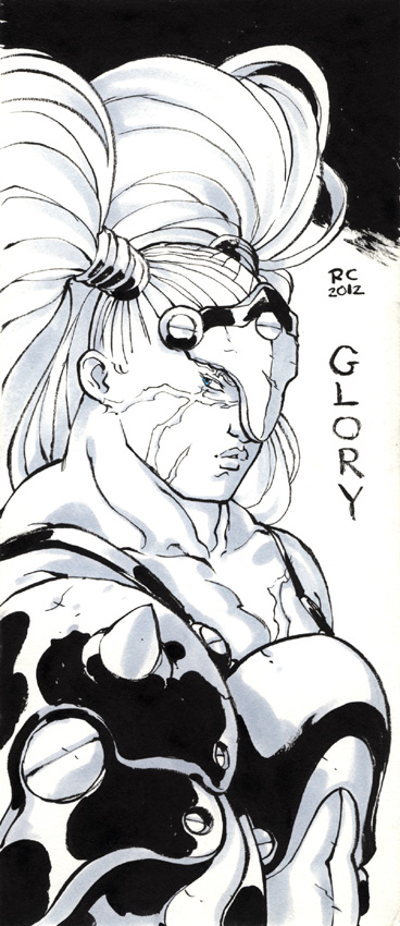 Glory contest sketch by mooncalfe