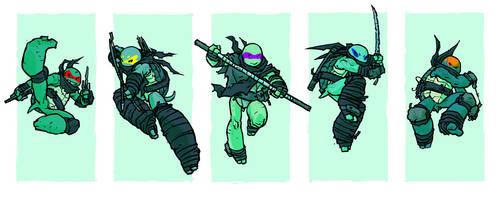 go ninja go by mooncalfe