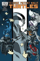 Teenage Mutant Ninja Turtles #32 by mooncalfe