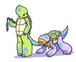 Tweenage Hybrid Troublemaker Turtleceratopses