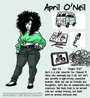 Secrets Of The Ooze: April O'Neil