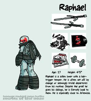 Secrets Of The Ooze: Raphael