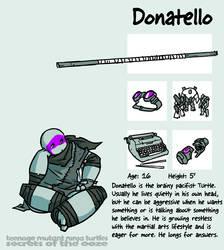 Secrets Of The Ooze: Donatello by mooncalfe