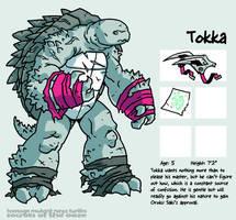 Secrets Of The Ooze: Tokka by mooncalfe