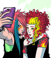 groupies by mooncalfe