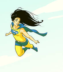 Supergirl by mooncalfe