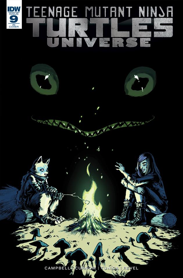 TMNT Universe #9 by mooncalfe