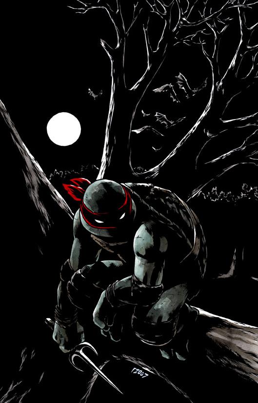 TMNT: Raphael: Bad Moon Rising #1 by mooncalfe