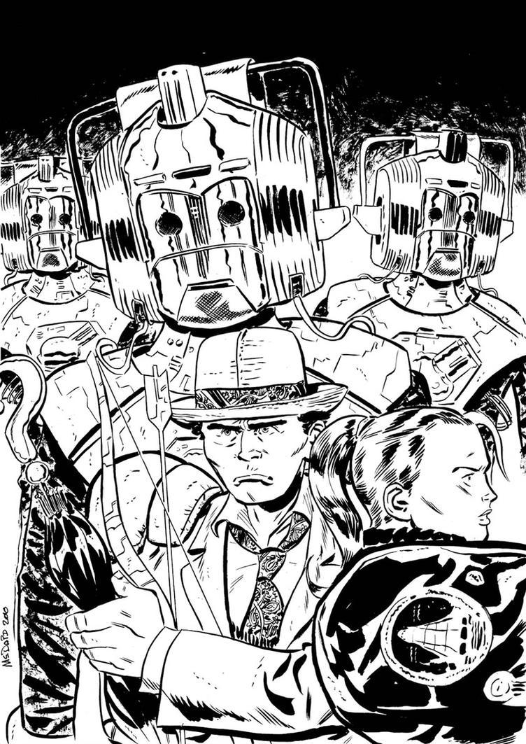 Doctor Who - Silver Nemesis by danmcdaid