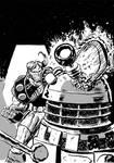 Daak vs Dalek
