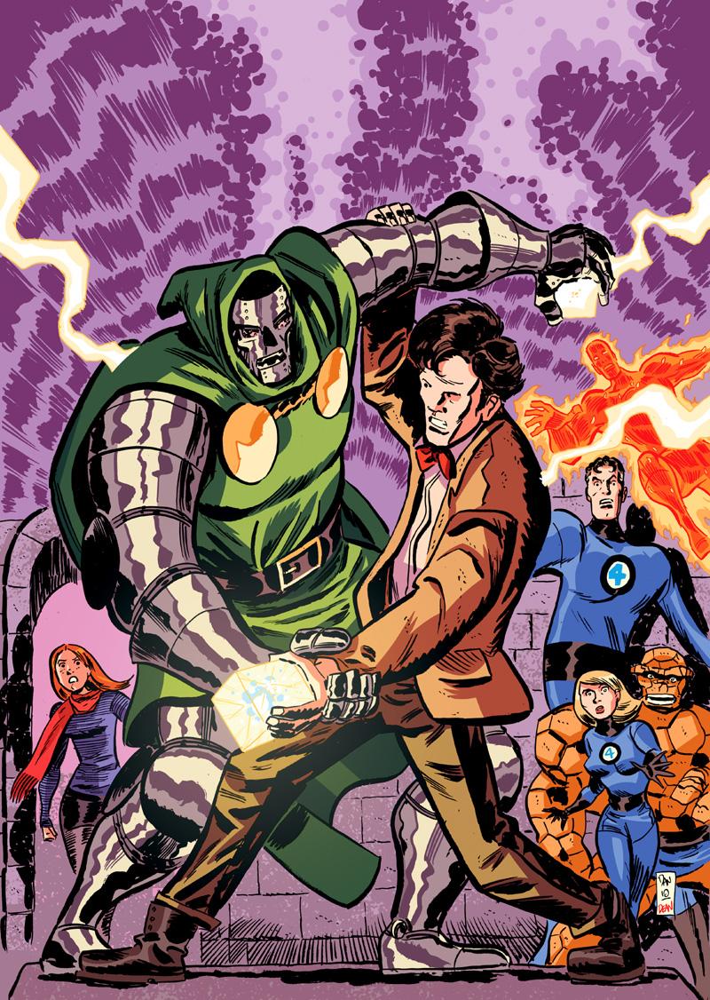 Doctor Who VS Doctor Doom