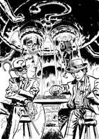Doctor Who VS The Riddler by danmcdaid