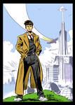Doctor Who pin-up by danmcdaid