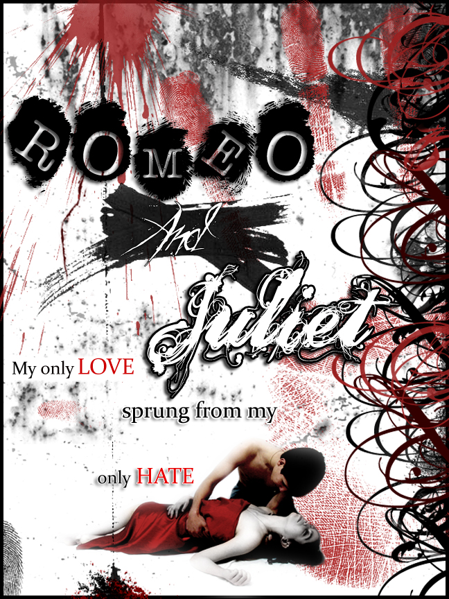 Romeo and juliet poster by PrincessTirfa on DeviantArt