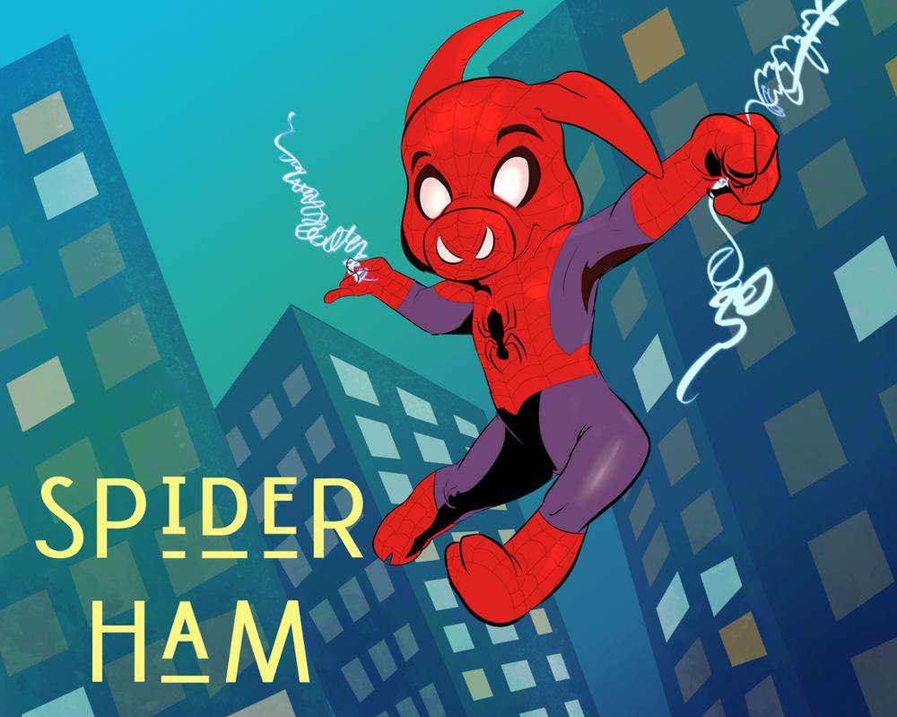 Spider Ham by Wooga