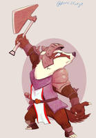 Horace- Armello (commission) by Wooga