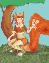 Squirrel Girl by Wooga