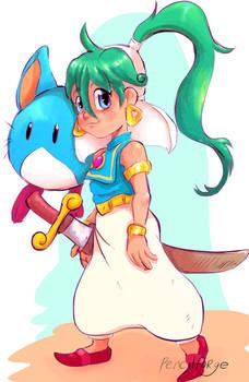 Asha- Monster World 4