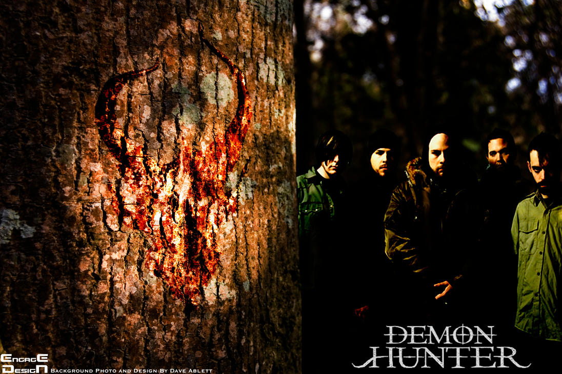 Demon hunter triptych wallpaper the for Demon hunter