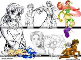 skill collection by yakumoSoul