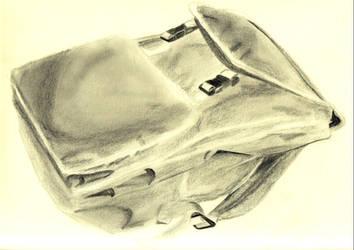 charcoal backpack by yakumoSoul