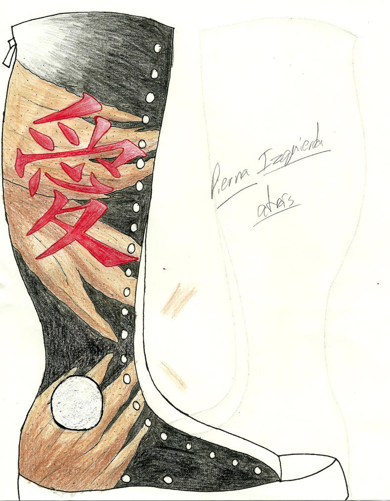 gaara tattoo shoe design by boricuagirl08 on deviantart. Black Bedroom Furniture Sets. Home Design Ideas
