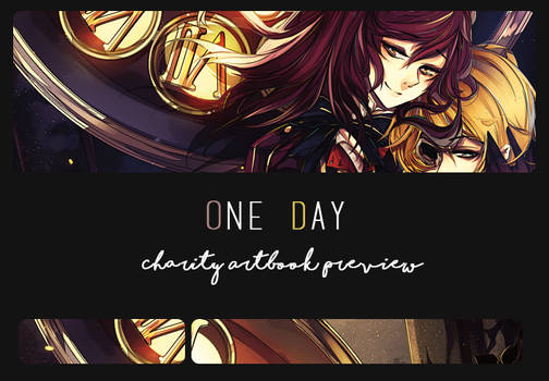 One Day Artbook Preview