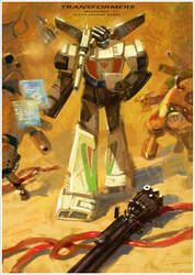 Wheeljack by Xiling