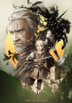 Novel cover The witcher vol.3