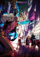 Archer of Shinjuku by Xiling