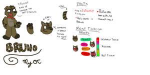 MY OC: Bruno, The Raccoon! by jarbas123