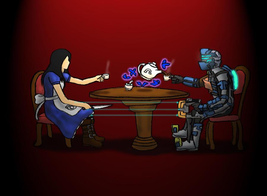 Isaac vs Alice 3 by WembleyAraujo
