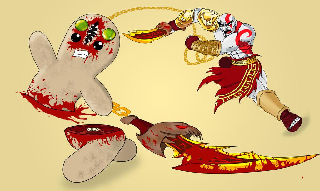 Kratos Vs Mario