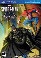 PS4 Spider-Man and Batman by WembleyAraujo
