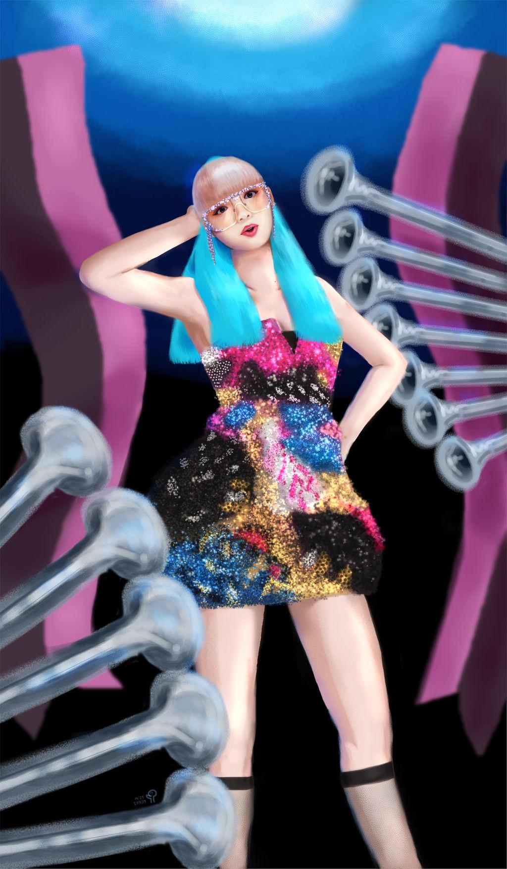 Fan Art Lisa Blackpink Kill This Love By Makikingdom On Deviantart
