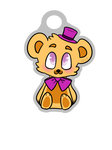Fredbear Keychain Back