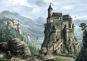 Highlands castle. by K-Kom