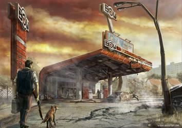 Fuel-station by K-Kom