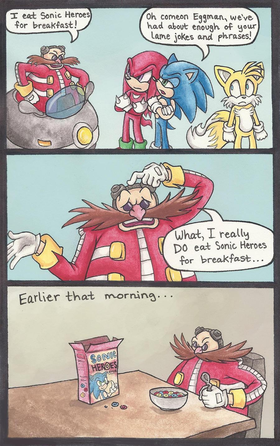 Eggman's Breakfast