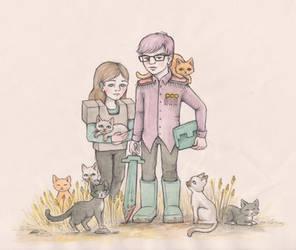 We like cats