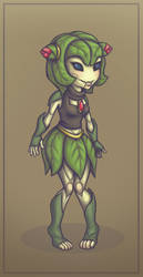 Cosmo the Floran by SpeedLimit-Infinity