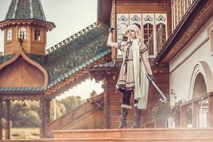 Hetalia Nyotalia Russia cosplay by Shipou-Negiru