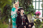 Ao no Exorcist Rin Okumura Shiemi Moriyama cosplay by Shipou-Negiru