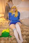 Adventure Time Fionna The Human cosplay by Shipou-Negiru