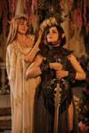 Elven girls cosplay photo